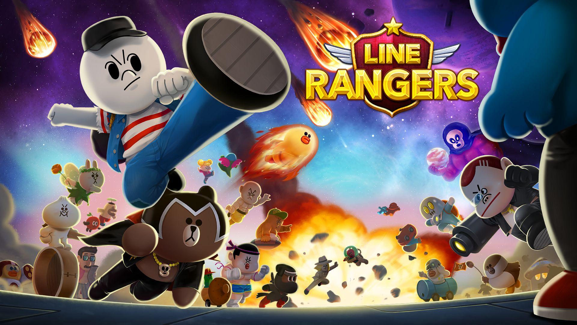 LINE Rangers – Nach großem Erfolg in Asien ist das Action-Battle-Spiel endlich auch in deutscher Sprache kostenlos erhältlich