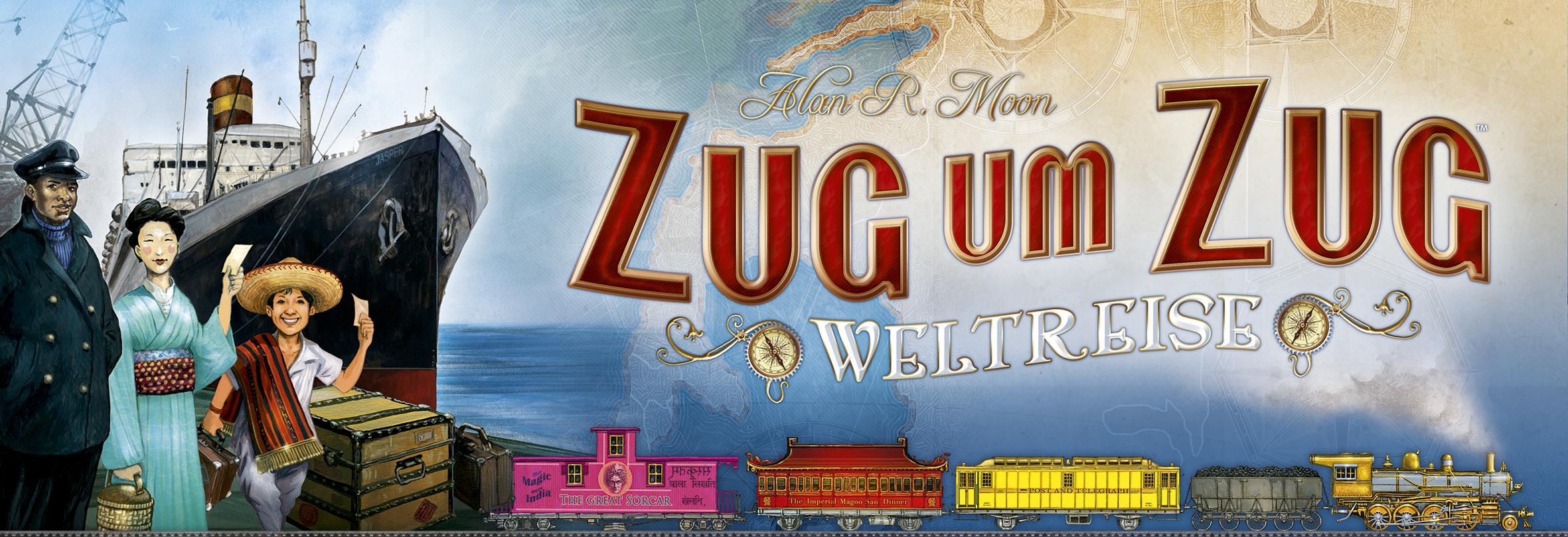 "Days of Wonder kündigt ""Zug um Zug: Weltreise"" an"